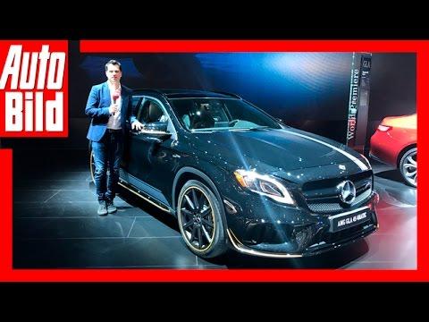 Mercedes-AMG GLA 45 Facelift (Detroit 2017) Review/Details