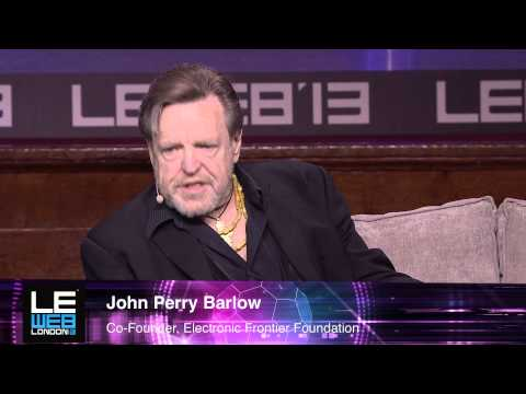 John Perry Barlow - Electronic Frontier Foundation - LeWeb London 2013