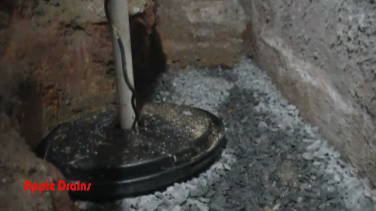 Footer Tile In Crawl Space Finding The Water Apple
