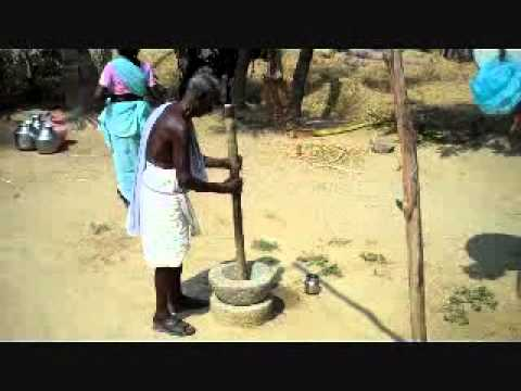 India - Rural village daily life - outdoor activities -Tamilnadu.wmv