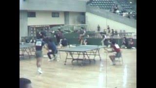 杉並小金井世紀の一戦 1973.5.27 Tokyo Table Tennis Festival