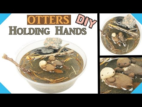HOW TO MINI OTTER TUTORIAL  DIY miniature doll otter pet