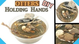 HOW TO MINI OTTER TUTORIAL  DIY miniature doll otter pet