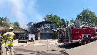 House on Fire FULL Video - Aurora (Dartmouth & Buckley area)