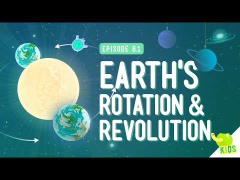 Earth's Rotation & Revolution: Crash Course Kids 8.1