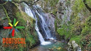 Fraga da Pena waterfall - Cascata da Fraga da Pena - Arganil - 4K UltraHD