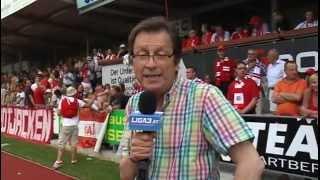 Relegation 2012: Hartberg - GAK, Spielabbruch (www.liga3.at)