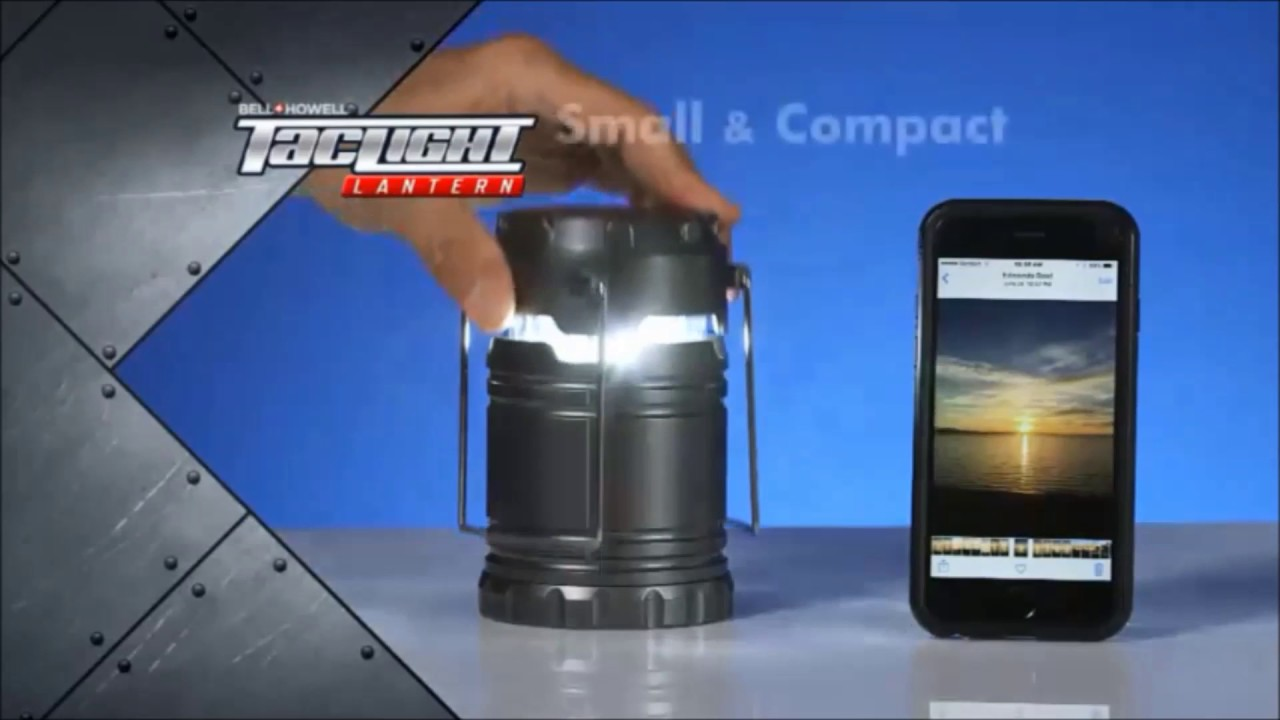 Bell and Howell Tac Light Lantern - As Seen On TV