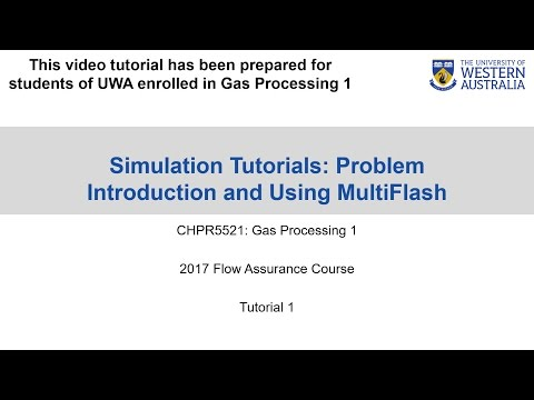 OLGA Tutorial 1 -  Multiflash