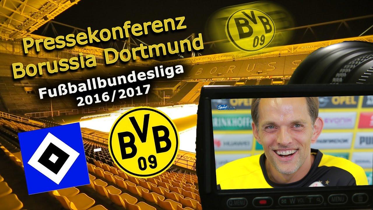 Hamburger SV - Borussia Dortmund: Pk mit Thomas Tuchel