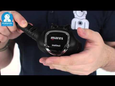 Mares Instinct 15X Regulator - www.simplyscuba.com