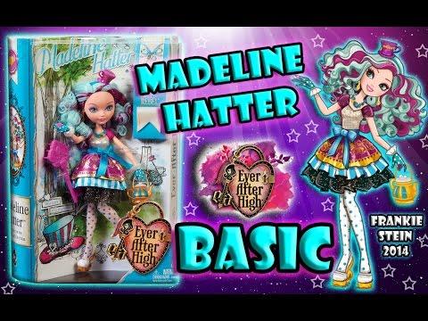 Мэделин Хеттер Базовая || Madeline Hetter Ever After High || Обзор || Распаковка