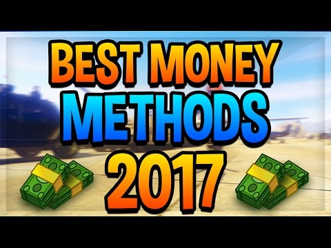 GTA 5 Online! - Best Ways To Make Money Quick And Easy Online! [GTA 5 Money Method Guide! 2017]