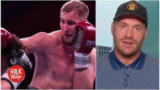 Tyson Fury explains why he's fighting Otto Wallin | Golic and Wingo