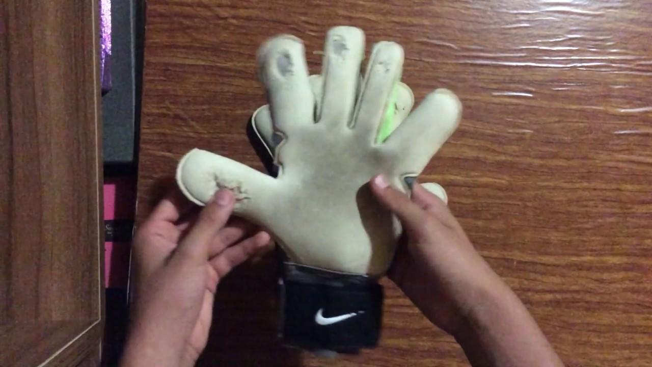 Donación Mejora Asalto  Guantes Nike kg vapor grip 3 - YouTube