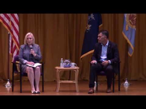 Senator Kirsten Gillibrand Holds Town Hall Meeting Kingston NY