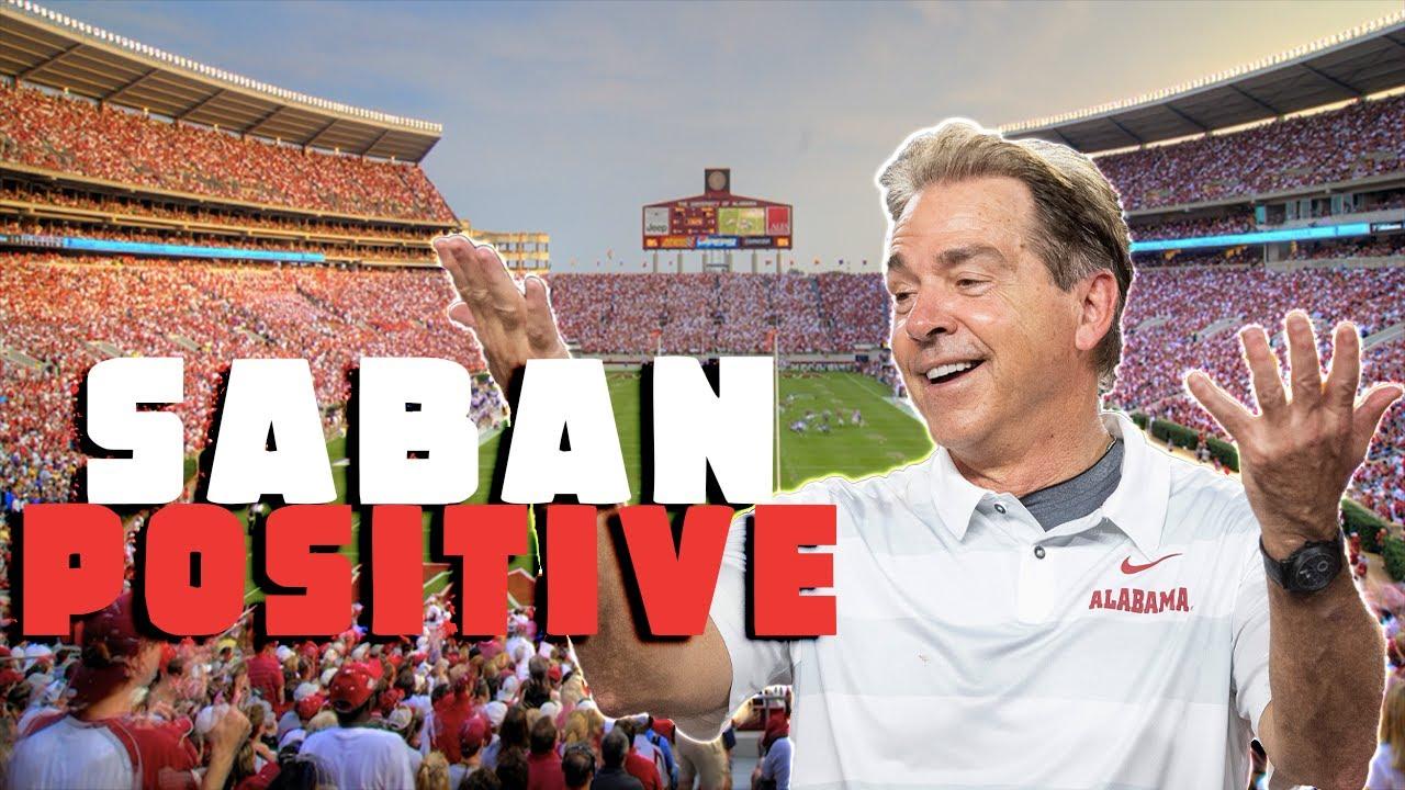 BREAKING: Alabama head coach Nick Saban tests POSITIVE, will miss IRON BOWL!