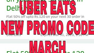 Download Uber Eats New Promo Code March 2019 Llgr Gaming Androll