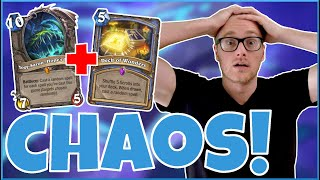 Hearthstone   Pure Chaos!   Wild Deck of Wonders Yogg Quest Mage   Rise of Shadows