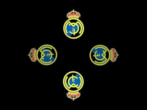 Real Madrid FC logo hologram