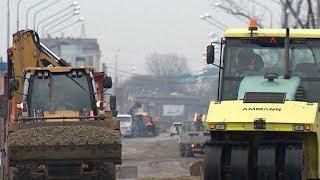 Завершается ремонт дороги на пересечении Новороссийской и Шевченко в Краснодаре