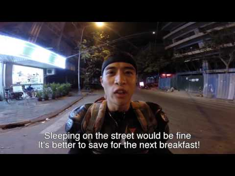 Hành chình phượt Lào Campodia  Việt Nam Thái Lan bằng xe moto của diễn viên Linh Sơn hót 1