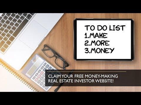 Free Real Estate Investor Website Template