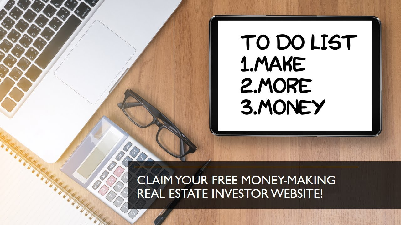 Free Real Estate Investor Website Template YouTube - Real estate investor website templates