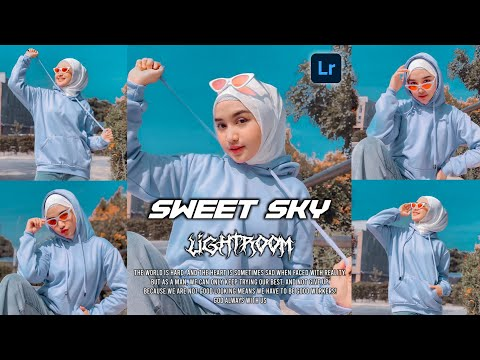 TUTORIAL EDIT FOTO ALA SELEBGRAM SWEET SKY | LIGHTROOM TUTORIAL | FREE PRESET LIGHTROOM