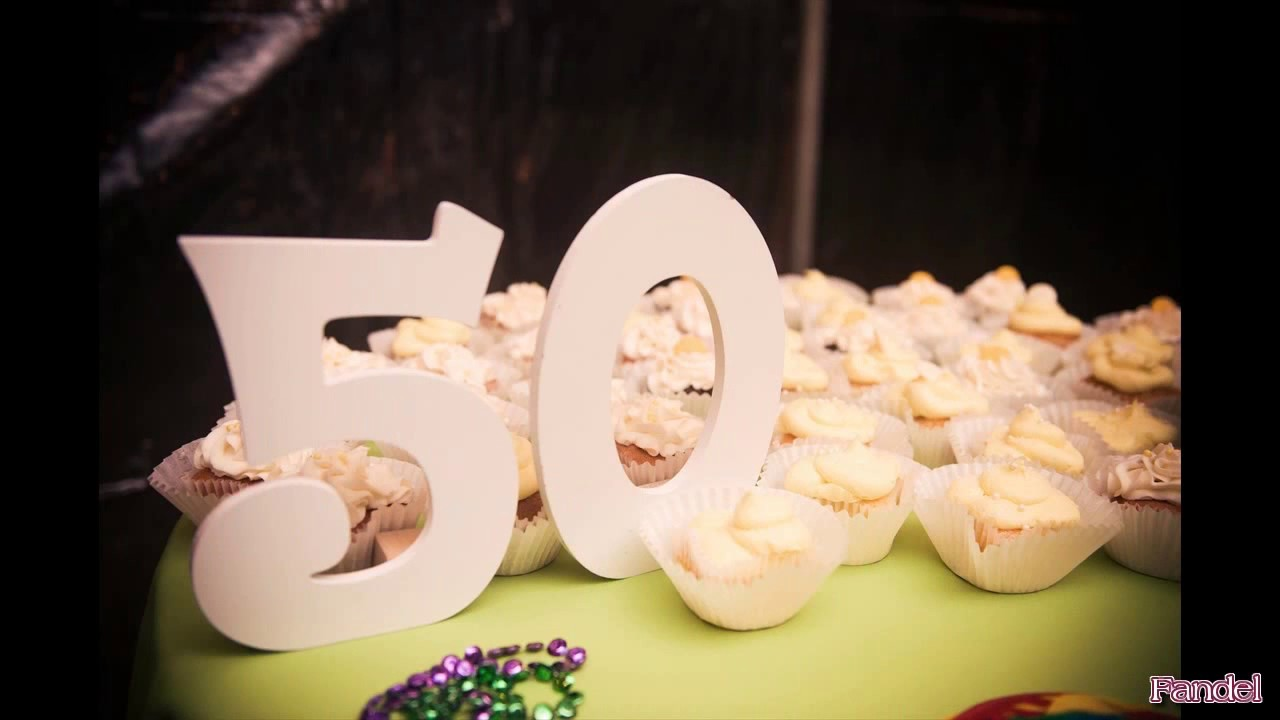 Birthday Party Ideas For 50th Themes