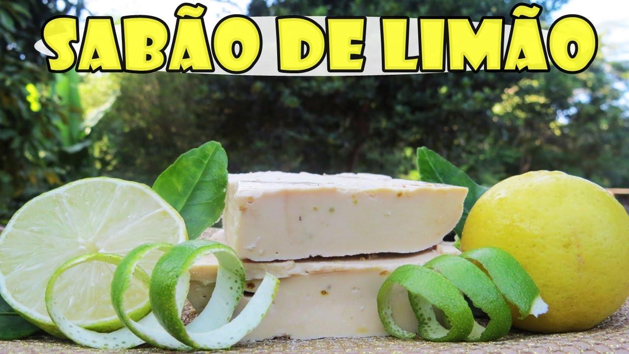 Sabão Caseiro De Limão Excelente Qualidade Como Fazer Com Fran