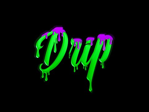 Photoshop Tutorial - Drip Text Effect