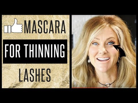 Mascara Tutorial For Thinning Lashes!