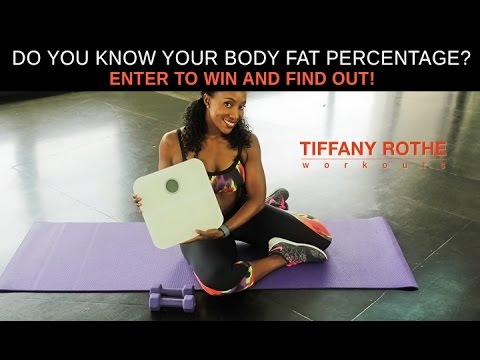 Do You Know Your Body Fat Percentage? Enter to Win and Find Out!​​​ | TiffanyRotheWorkouts​​​