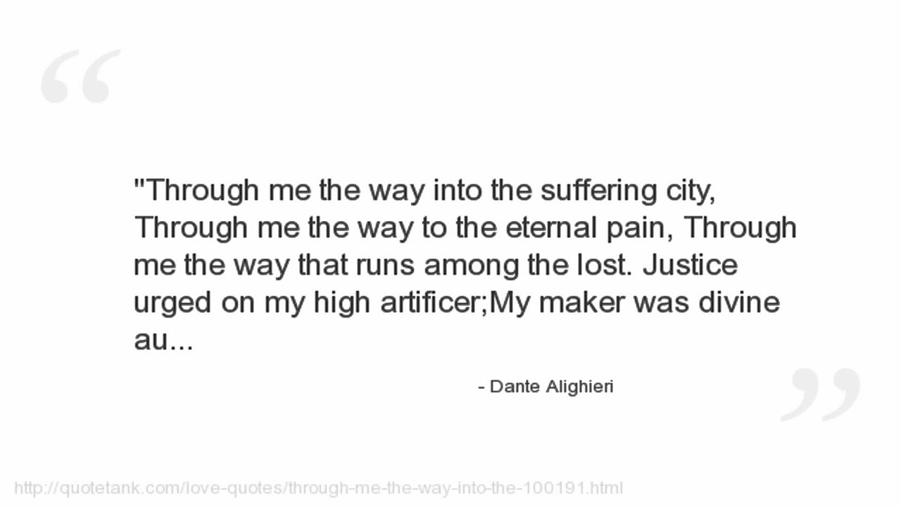 Dante Quotes Dante Alighieri Quotes  Youtube