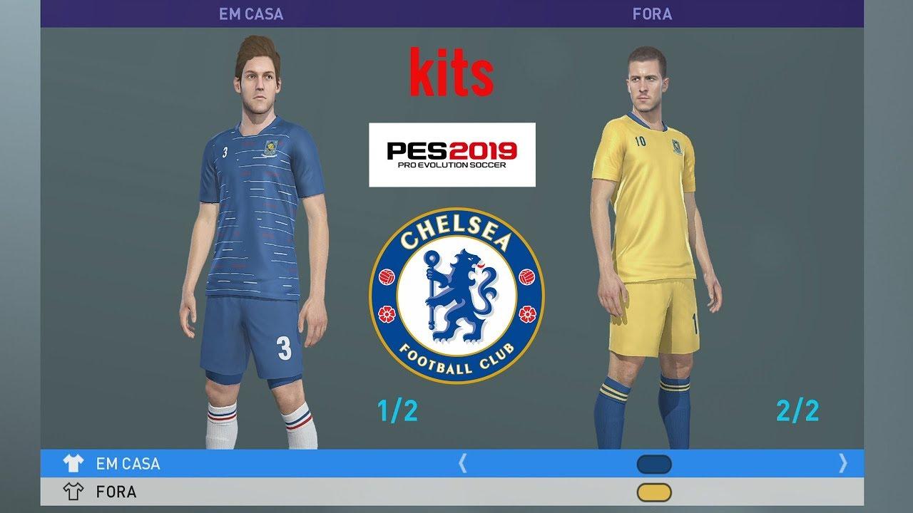 CHELSEA FC KITS PES 2019 XBOX ONE