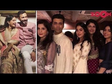 Sonam Kapoor & Anand Ahuja's Mehendi Ceremony Brings Bollywood Under One Roof