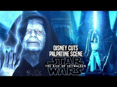 Disney Cuts Major Palpatine Scene In The Rise Of Skywalker Star Wars Episode 9 Youtube