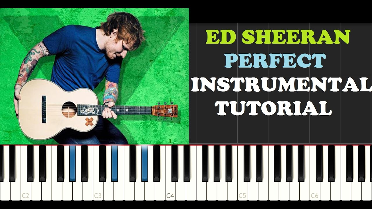 Ed Sheeran Piano Tutorials By Dario D'Aversa