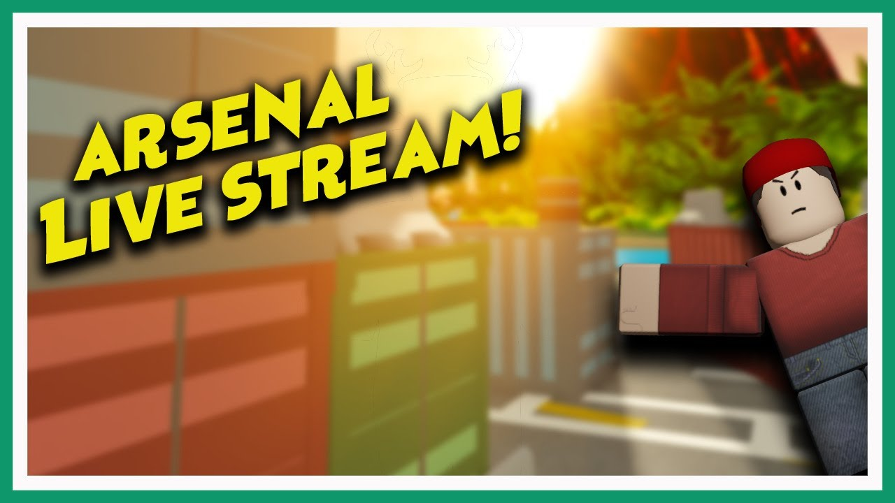 Roblox Arsenal Stream Vip Server Link Is In The Description Youtube