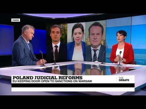 THE DEBATE - Poland Judicial Reforms: EU keeping door open to sanctions on Warsaw