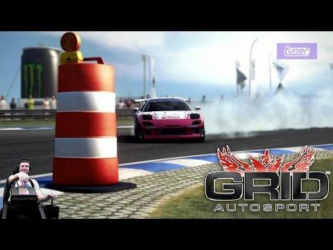 GRID Autosport - ПОТРЯСАЮЩИЙ ДРИФТ! на руле Fanatec CSL Elite
