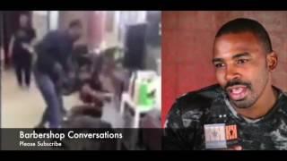 Gay Boxer Yusaf Mack  beats The Sh!t out of internet Troll 4 Gay Slander!