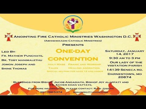 Anointing Fire Catholic Ministry Washington, D.C.