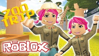 TAKING MY DAUGHTER TO THE ZOO | Roblox Roleplay | Welcome to Bloxburg/ Robloxia Zoo