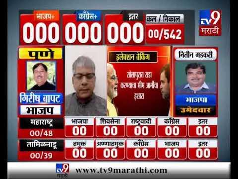 Lok Sabha Results LIVE | भीम आर्मीची धमकी, प्रकाश आंबेडकरांचं शांततेचं आवाहन-TV9