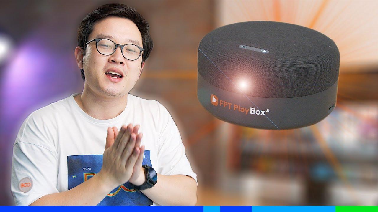 FPT Play BOX S: Xịn hơn cả Google Home & Apple HomePod?!!