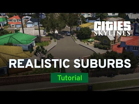 Creating Realistic Suburbs with two dollars twenty | Modded Tutorial | Cities: Skylines thumbnail