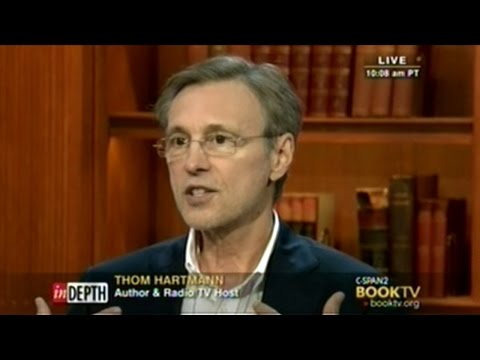 """America Was Founded On A Revolt Of Corporate Power!"" Thom Hartmann"