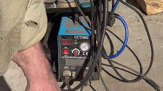 Poor Mans Review - CUT50 Ebay Plasma Cutter Review